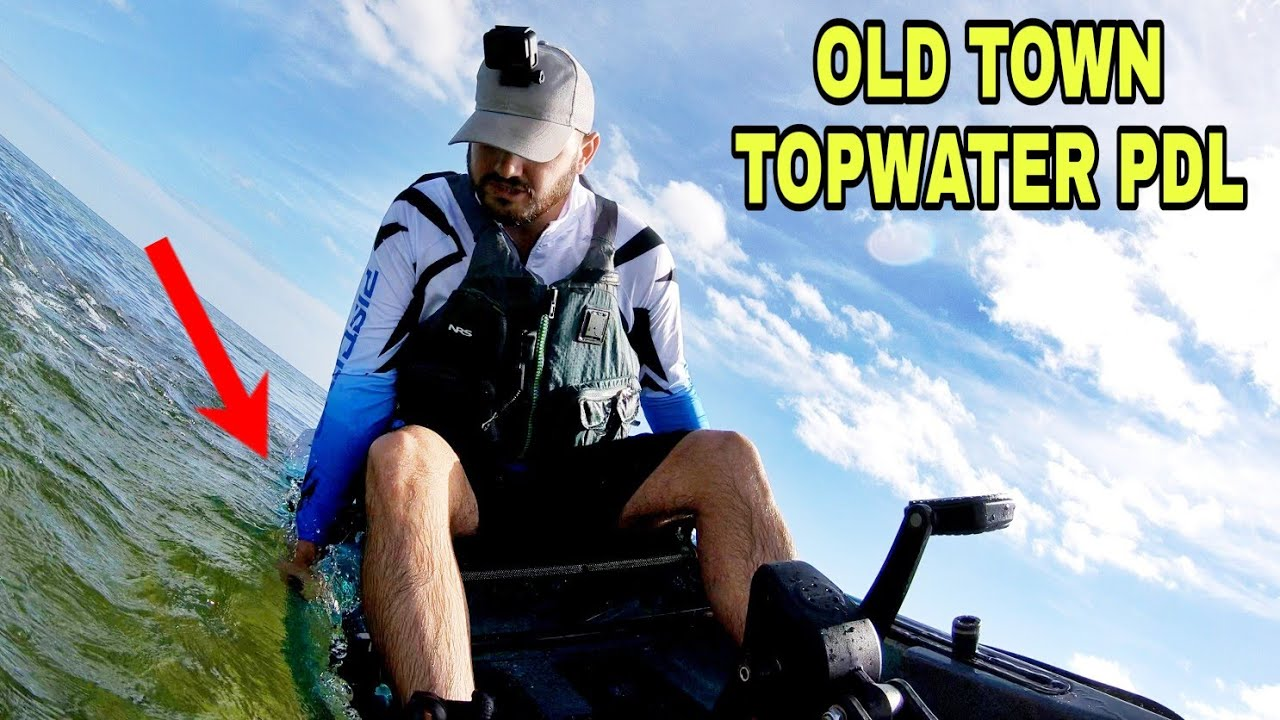 Old Town Topwater PDL Crazy Stability Test Does It FLIP